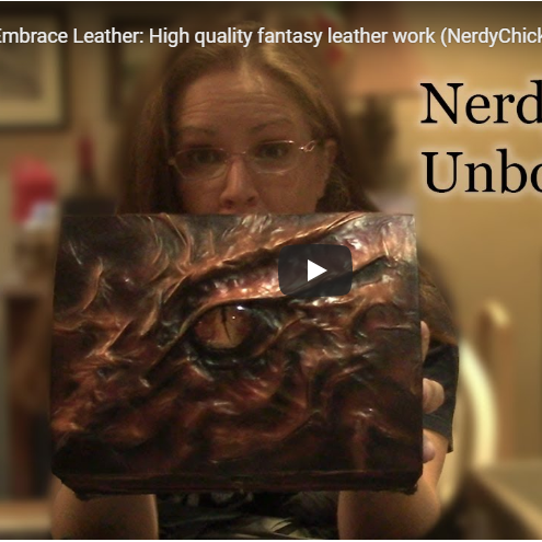 Nerdy Unboxing Embrace Leather