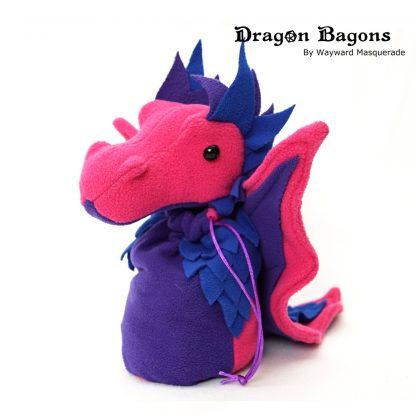 Bi Pride Dragon Bagon Wayward Masquerade