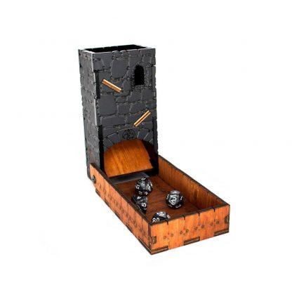 Dragonstone drawbridge tabletop gaming dice tray C4Labs