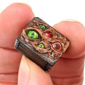 Creepy Eye Chest Mini Medieval Miniatures