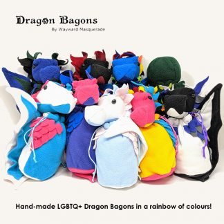 LGBTQ+ Pride Dragon Bagon dice bag Wayward Masquerade