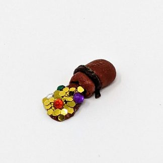 28mm spilt coin pouch Medieval Miniatures Jasmin Reeve