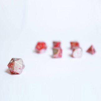 pandemic aluminium luxury metal dice