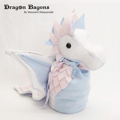 Pastel Trans Pride Dragon Bagon Wayward Masquerade