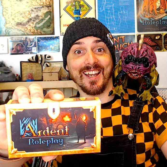 Shaun Sunday DnD 5e Player Screen TTRPG