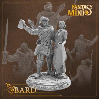 fantasy bard miniature fantasy minis