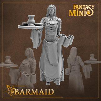 fantasy barmaid miniature Fantasy Minis