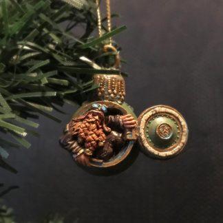 Steampunk Dwarf Tree Ornament