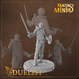 Fantasy duelist rogue miniature Fantasy Minis