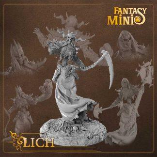Fantasy Lich Miniature Fantasy Minis