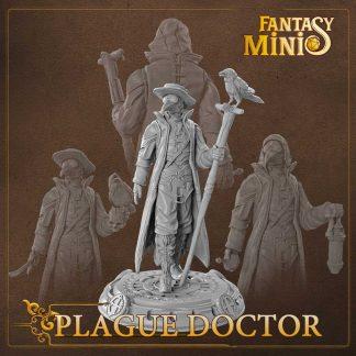Fantasy Plague Doctor Miniature Fantasy Minis