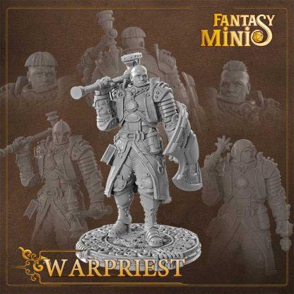 Fantasy war priest miniature Fantasy Minis