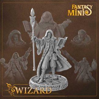 fantasy wizard miniature Fantasy Minis