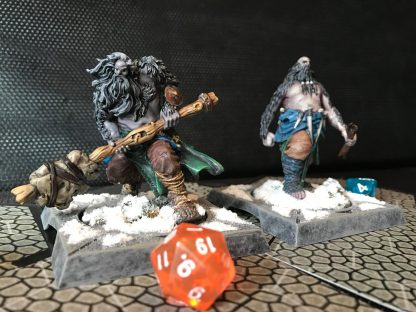 Hand-Painted Giants of GoT Miniatures