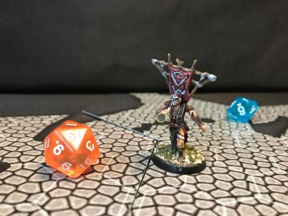 Hand-Painted Pewter LOTR Miniature