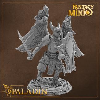 Fantasy Paladin Miniature Fantasy Minis
