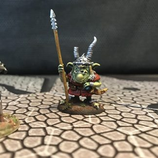 Hand-Painted Goblin Warrior Miniature
