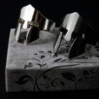 fantasy Stirling Silver Spartan Helmet Ring Lukas Craft