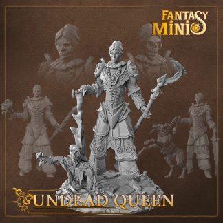 fantasy undead queen miniature fantasy minis