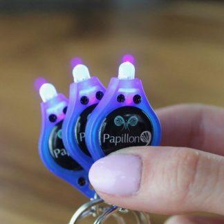 UV Black Light Keychain